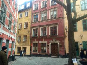 Colours of Stockholm. Keep you warm on a cold wintery day :)