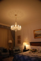 Love the Chandelier! The Four Seasons Prague. Lovely Rooms!!!