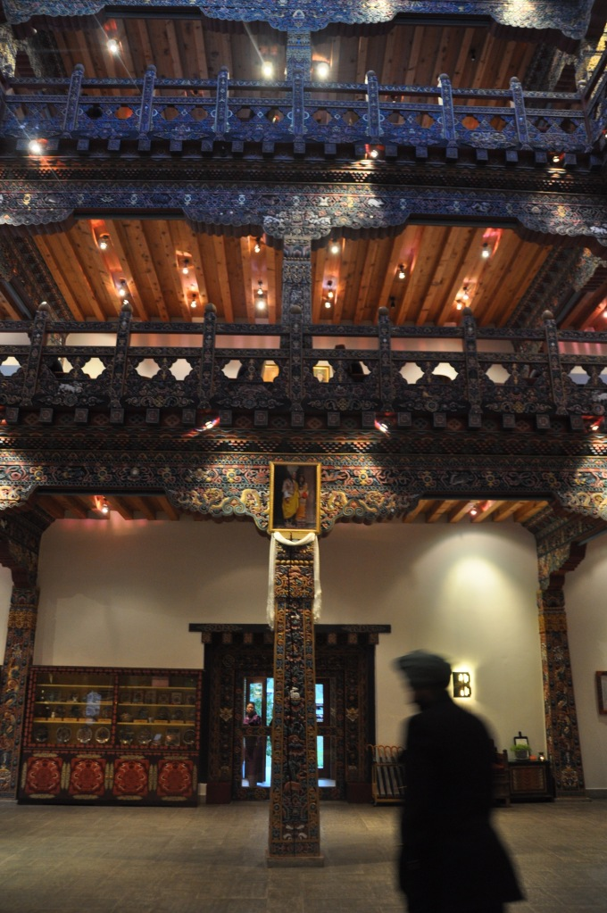 The Lobby of Zhiwa ling