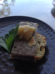 Duck Terrine with Spiced Pear