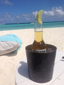 A chilled beer on a warm sunny day. Can you beat that ?