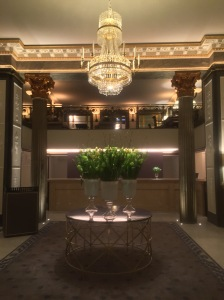 Lobby at The Grand Hotel Stockholm