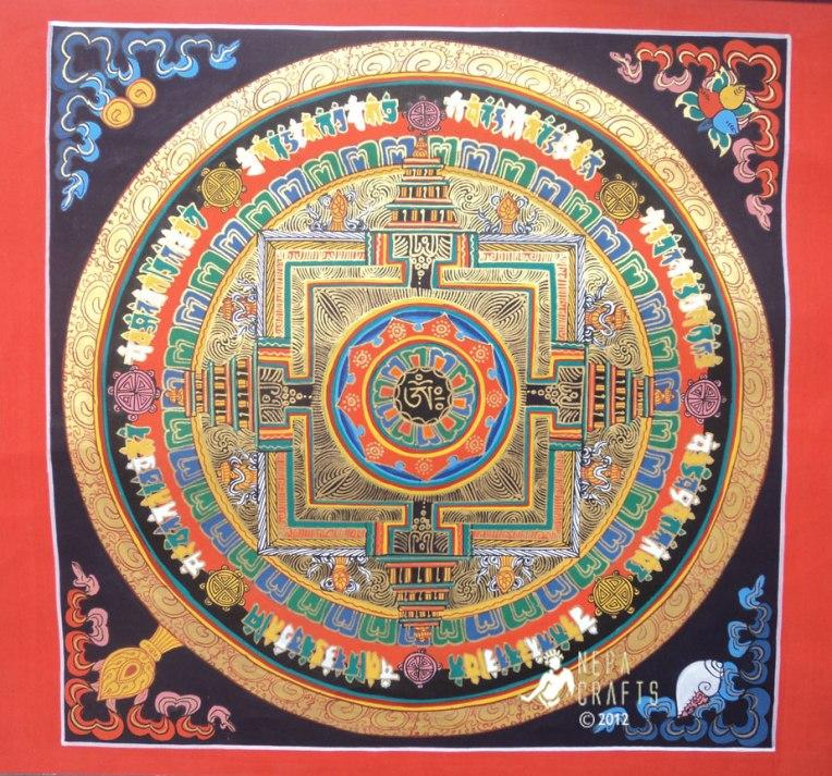 NBT07 Tibetan OM Mandala