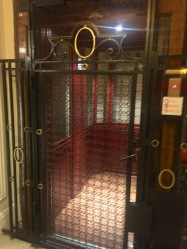 beautiful antique elevator